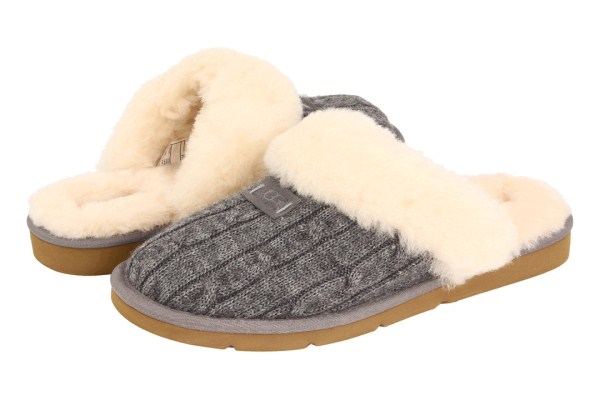 Cozy Knit Slippers编织棉鞋